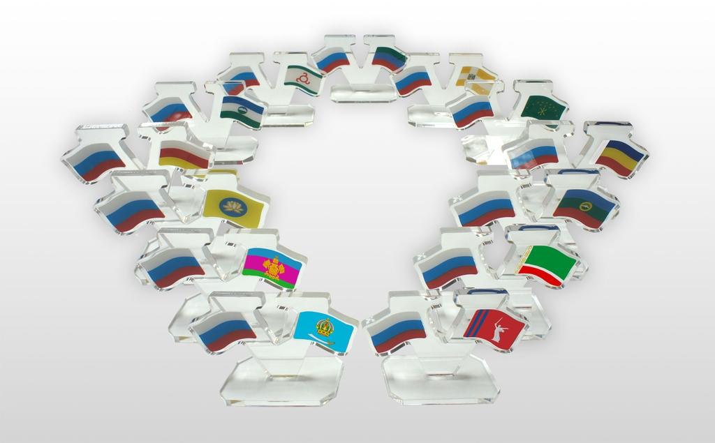 флаги регионов